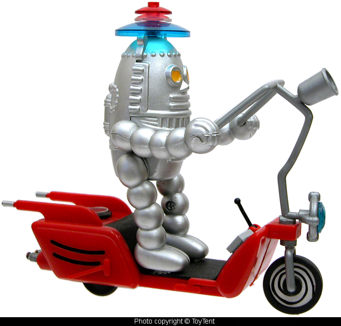 Robot Scooter to Mars