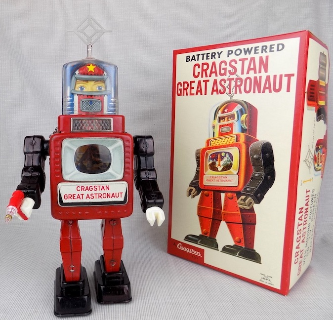 Cragstan Great Astronaut Robot made in Japan by Alps