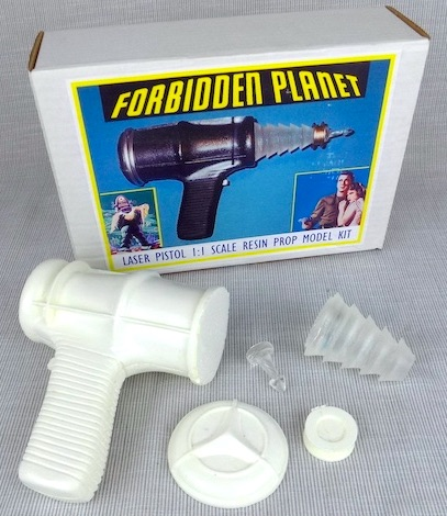 Forbidden Planet Laser Pistol Model Kit